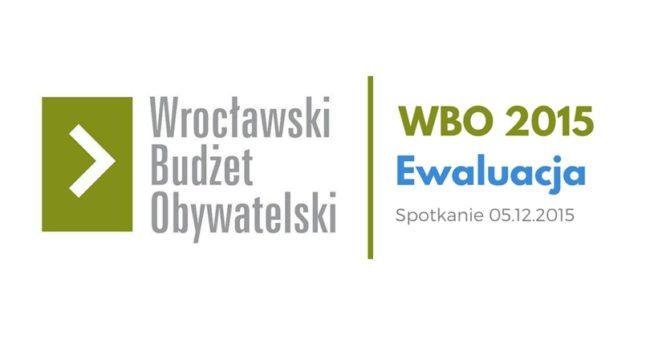 Relacja ze spotkania ewaluacyjnego WBO 2015