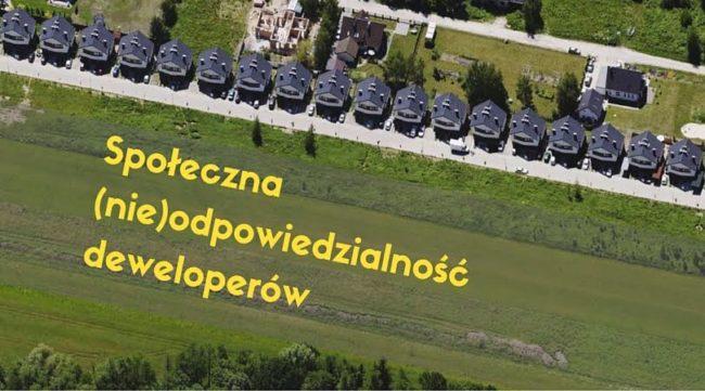 Deweloperzy, weźcie odpowiedzialność za Wrocław!