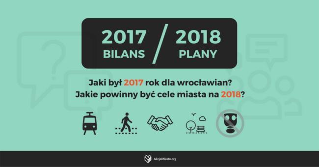 2017 – podsumowanie / 2018 – plany i cele