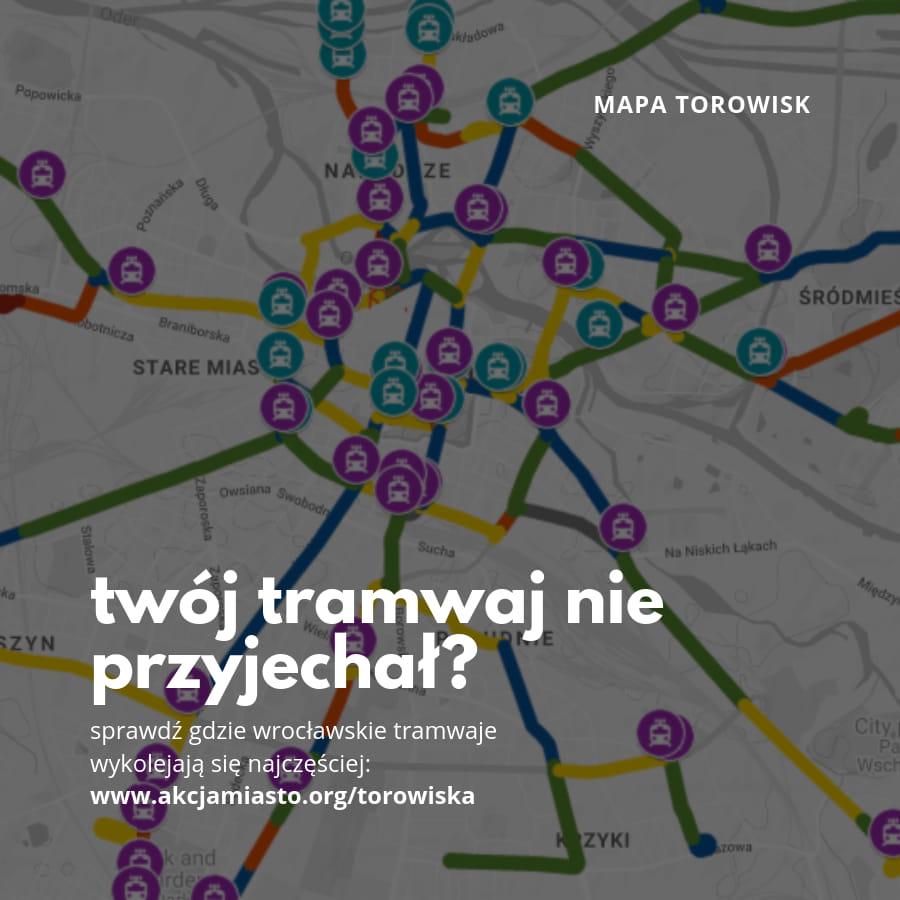 Mapa Kondycji Wrocławskich Torowisk